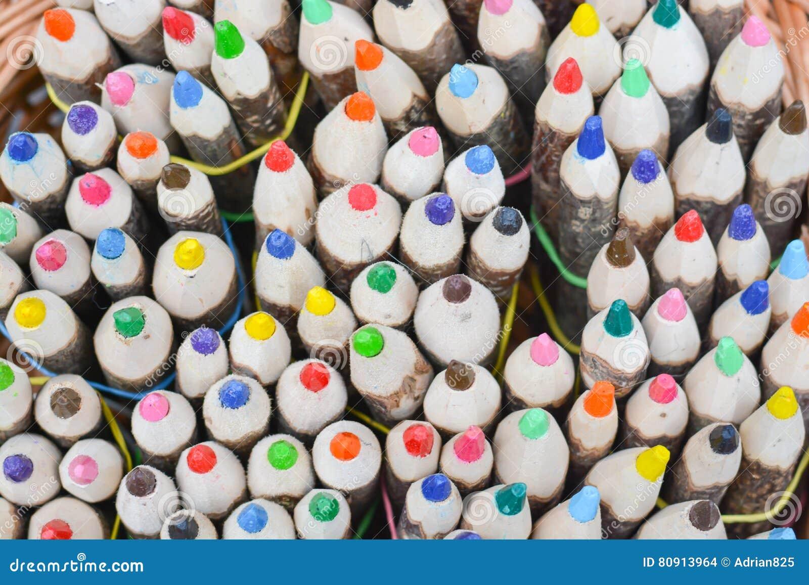 Lápices coloreados multi