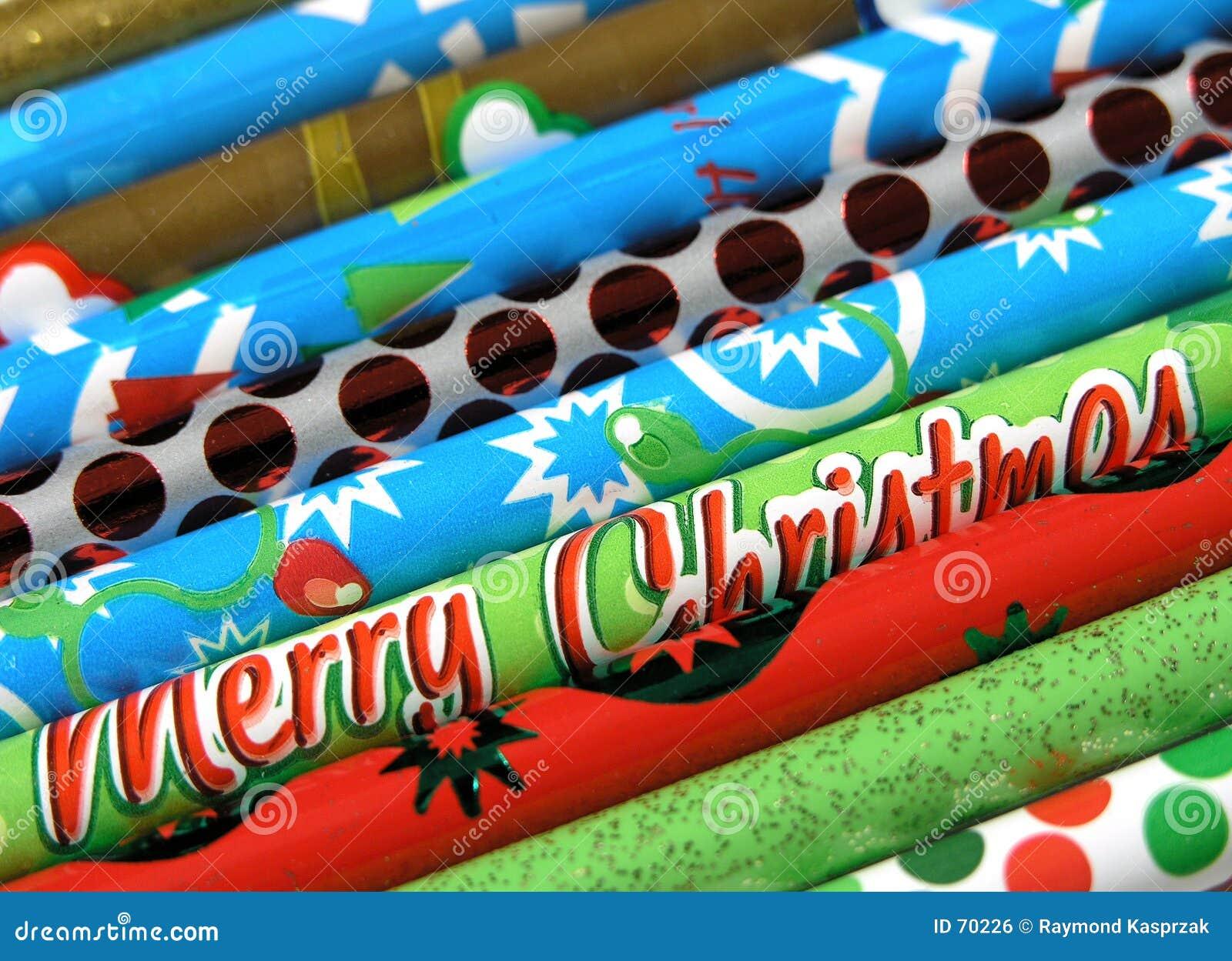Lápices de la Navidad
