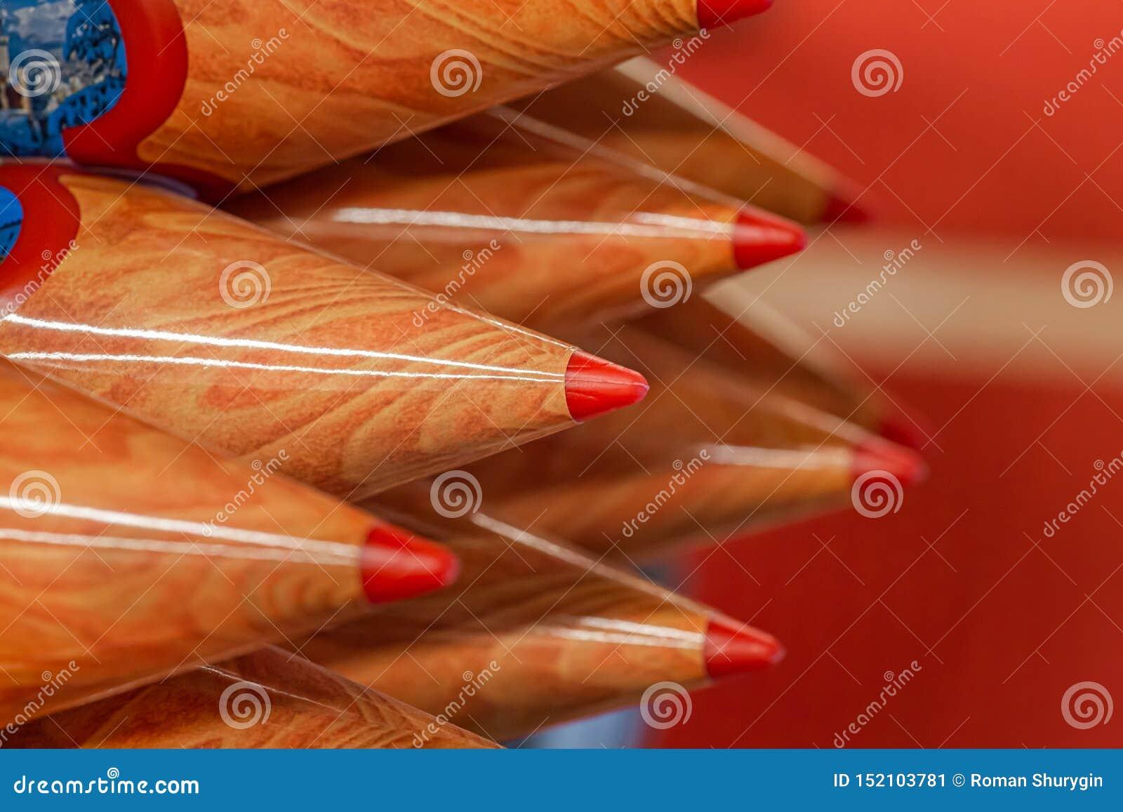 Lápices de madera coloreados, recuerdo