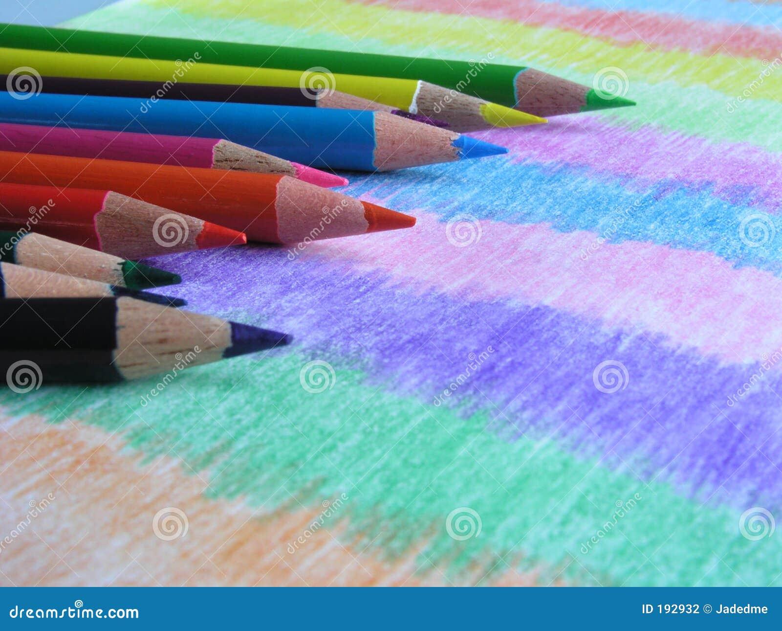 Lápices III-Coloreados colores básicos