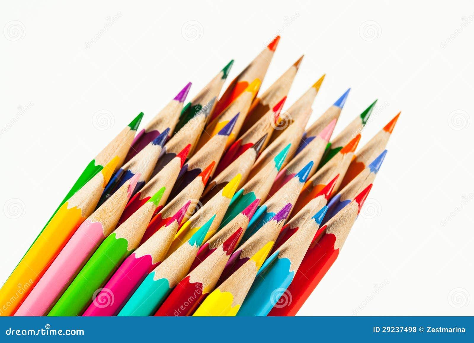 Download Lápis coloridos foto de stock. Imagem de divertimento - 29237498