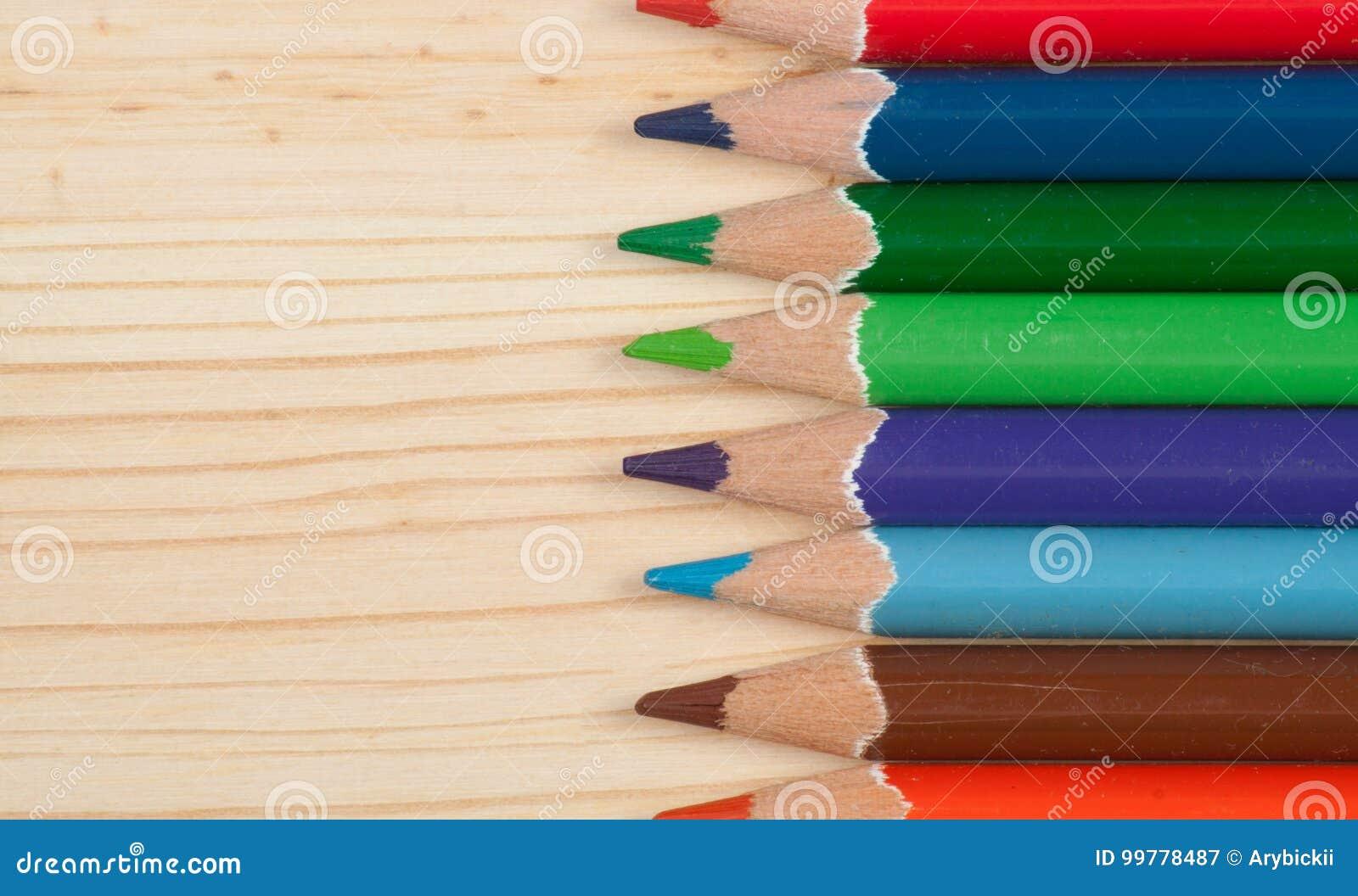 Lápis coloridos Sharpened