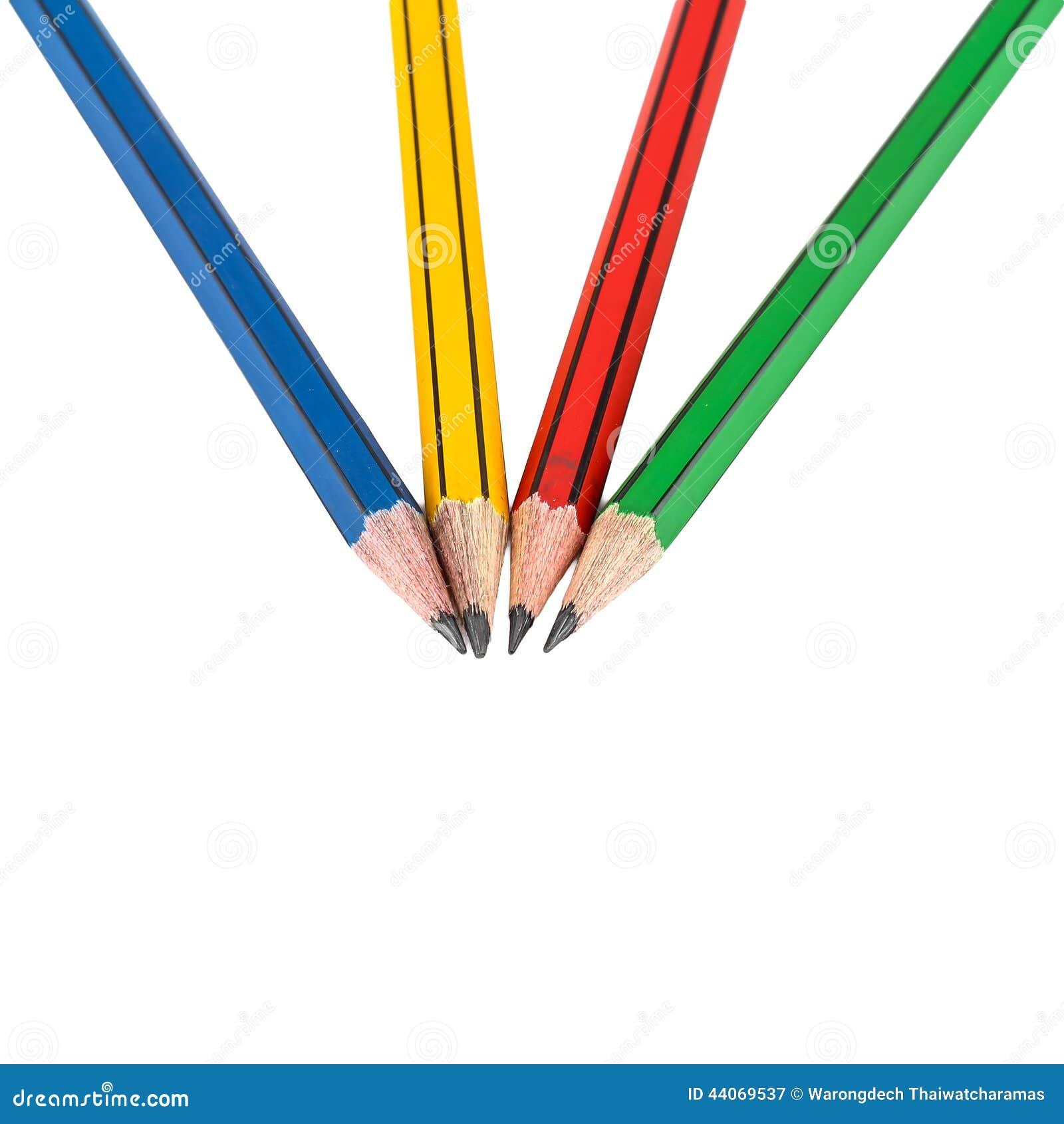 Lápis de madeira da grafite para esboçar