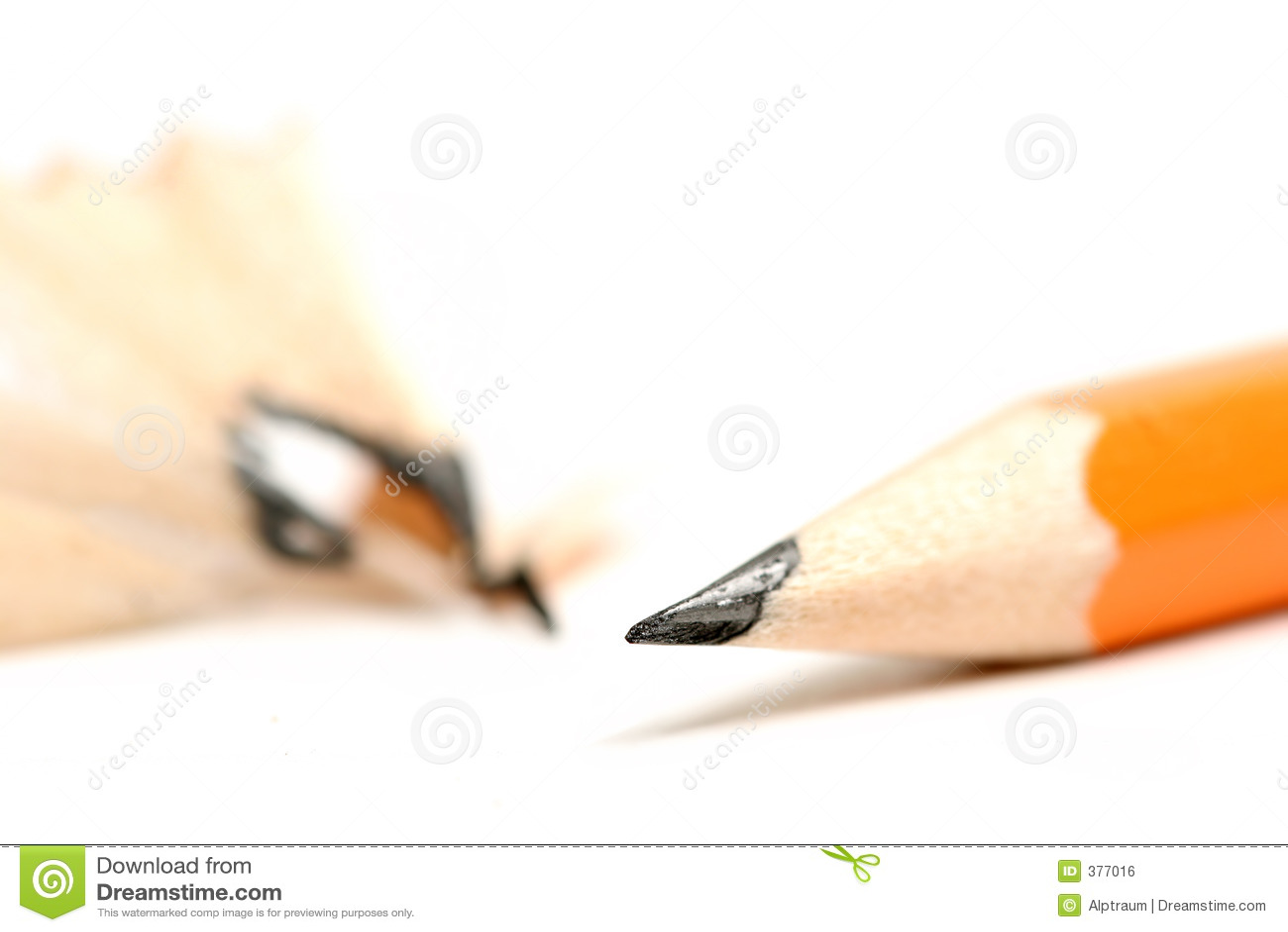 Lápis sharpened