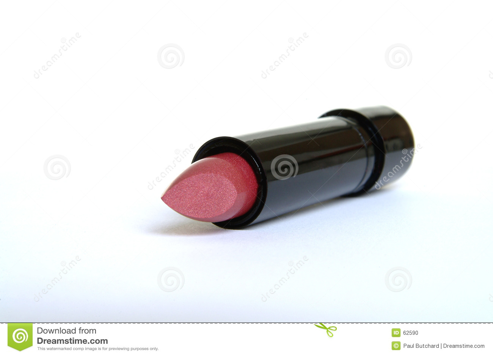 Lápiz labial brillante rosado