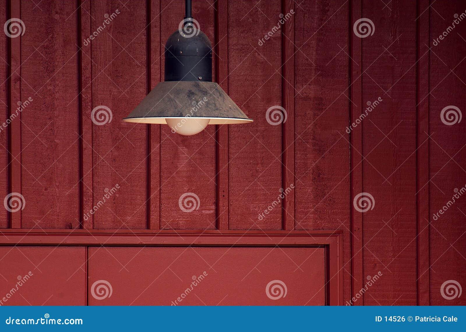 Lâmpada da porta de celeiro
