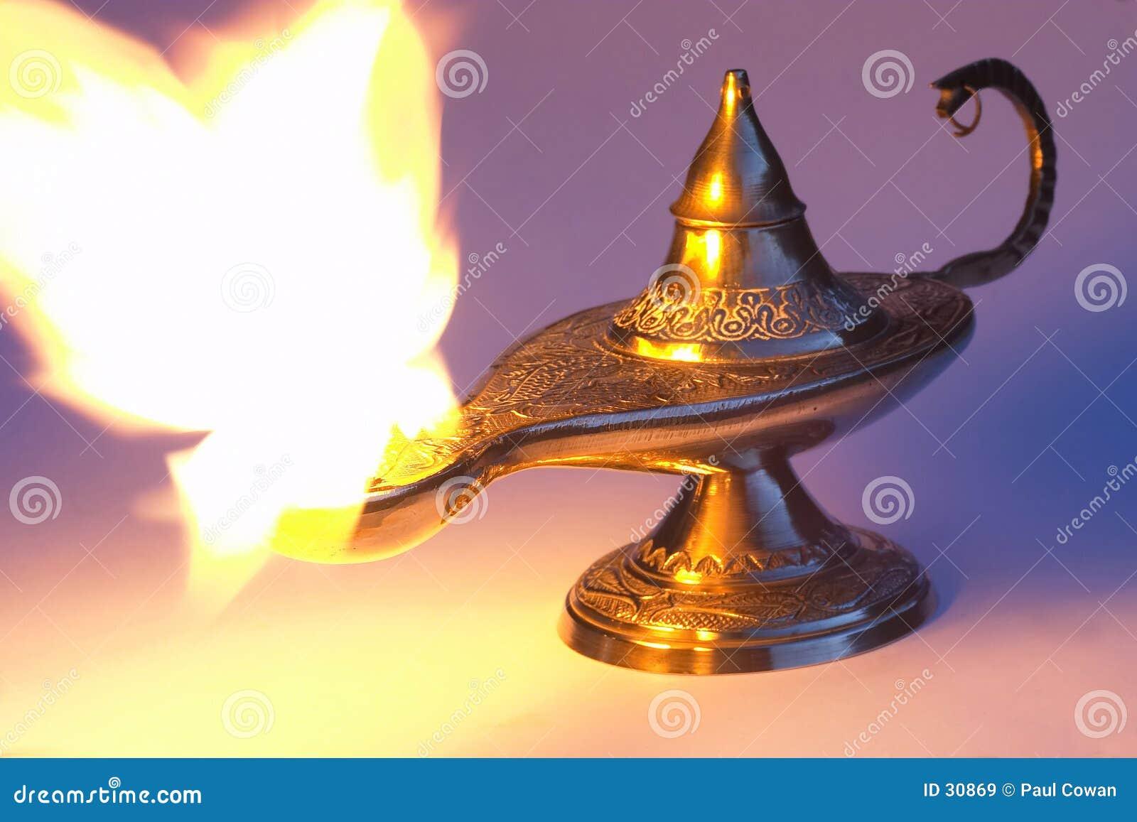 Lâmpada de Aladdin 1