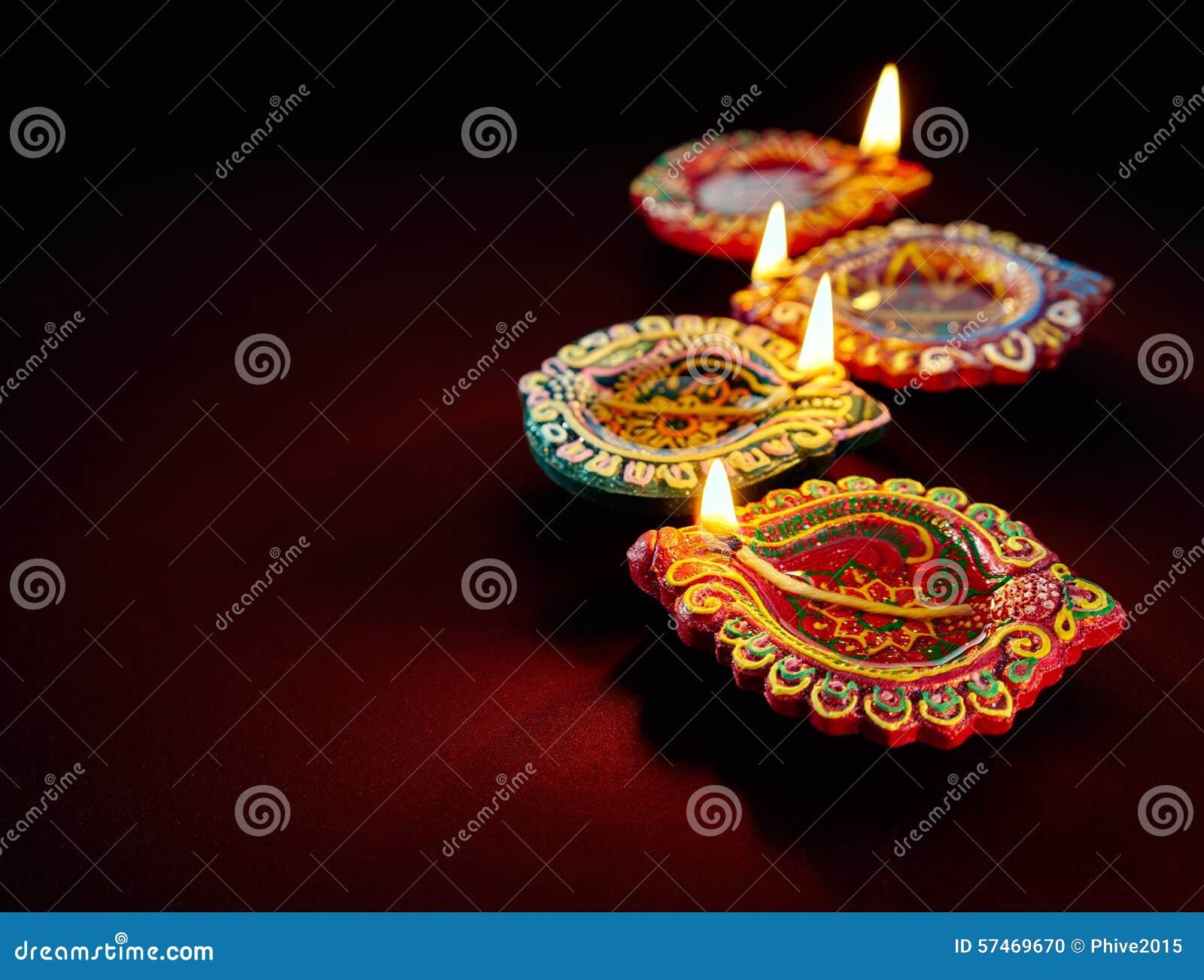 Lâmpada de petróleo de Diwali