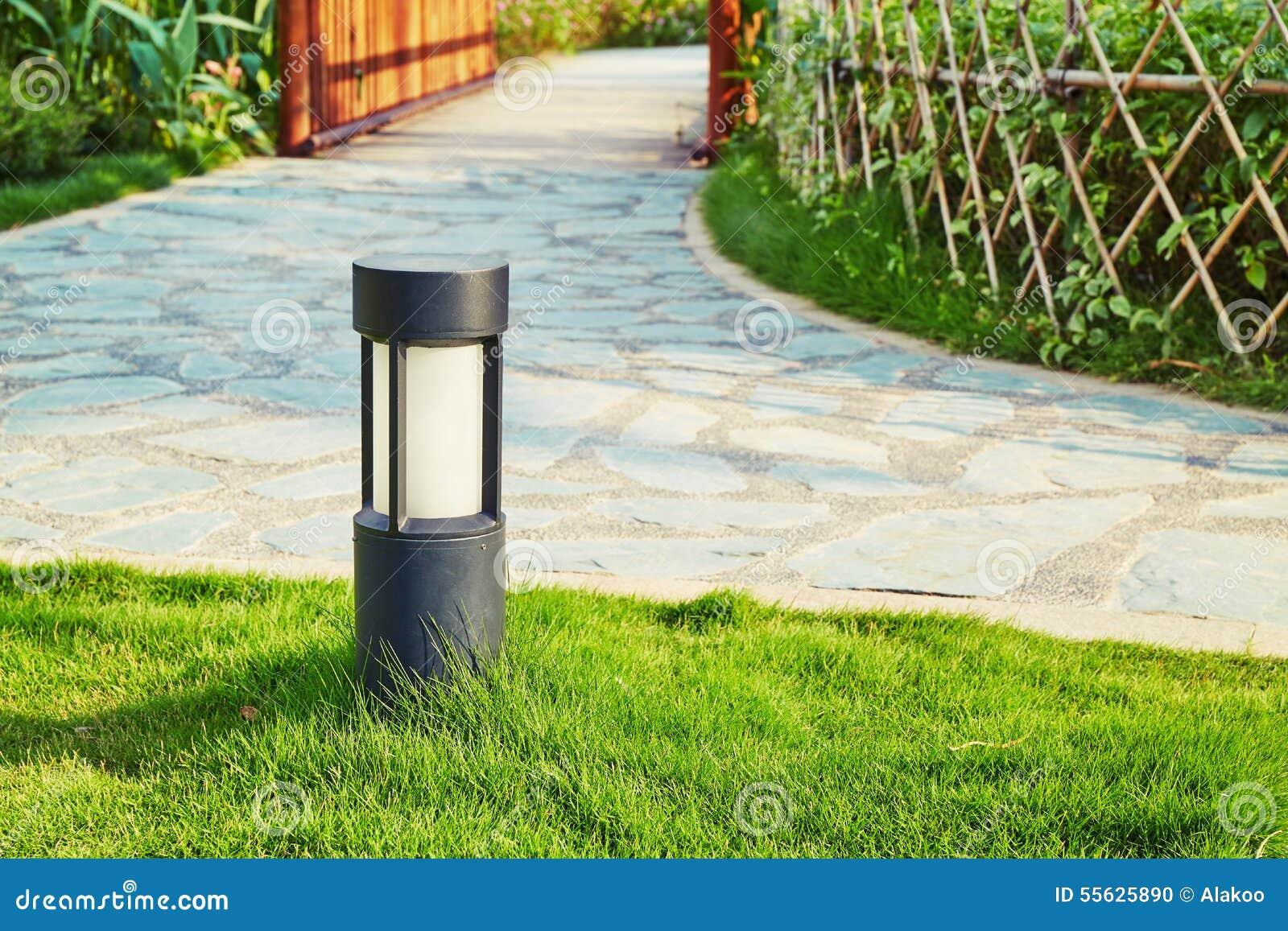 Lâmpada do gramado, iluminação da paisagem