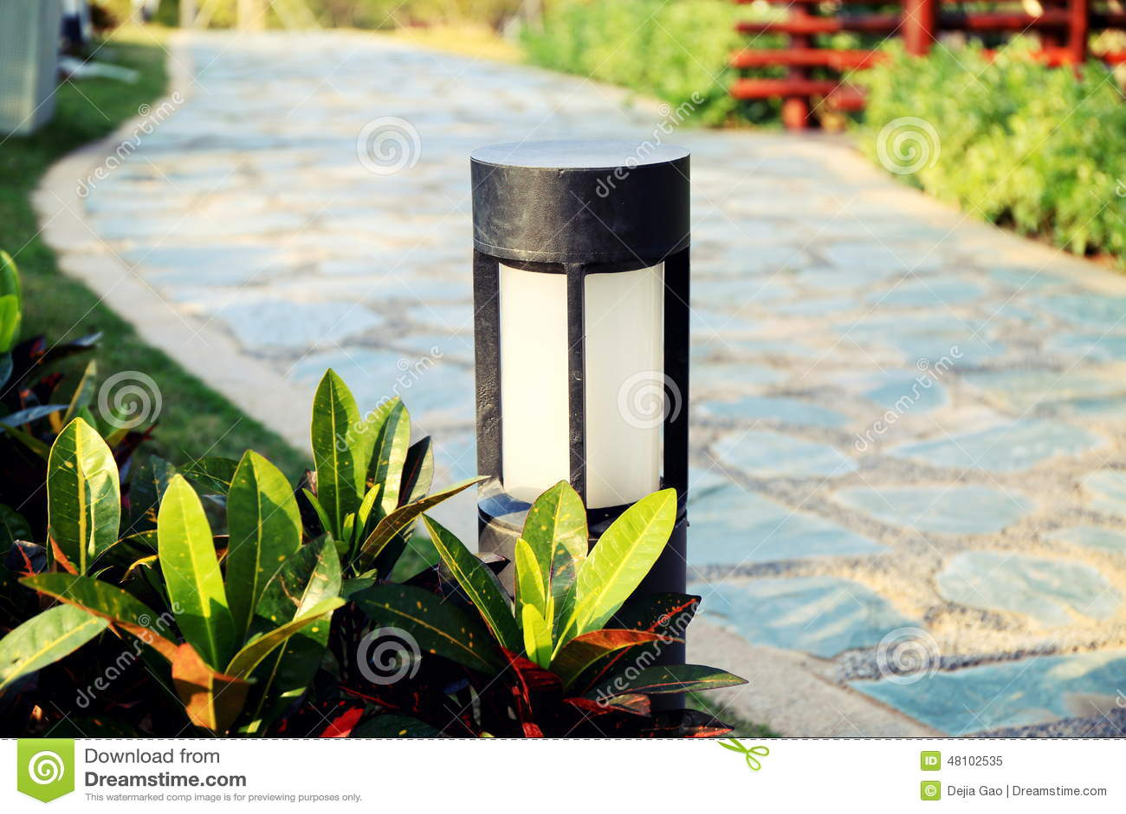 Lâmpada moderna do gramado, luz do gramado, lâmpada do jardim, iluminação da paisagem