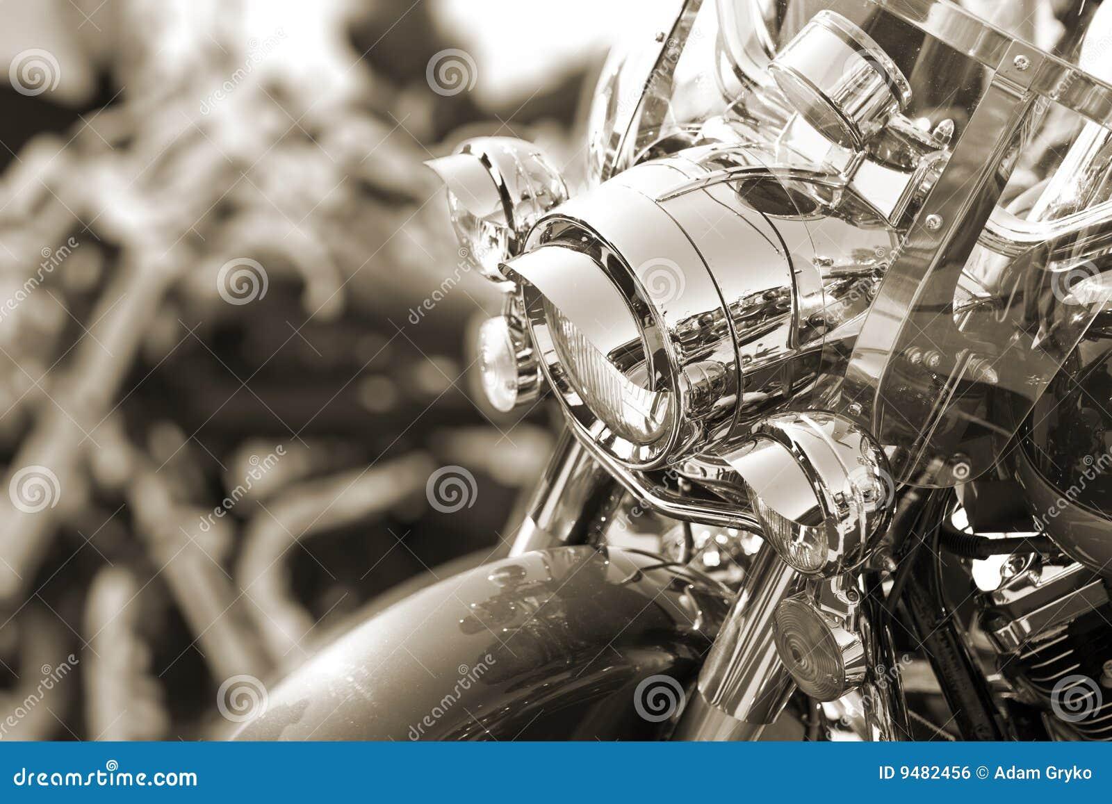 Lâmpada principal do velomotor