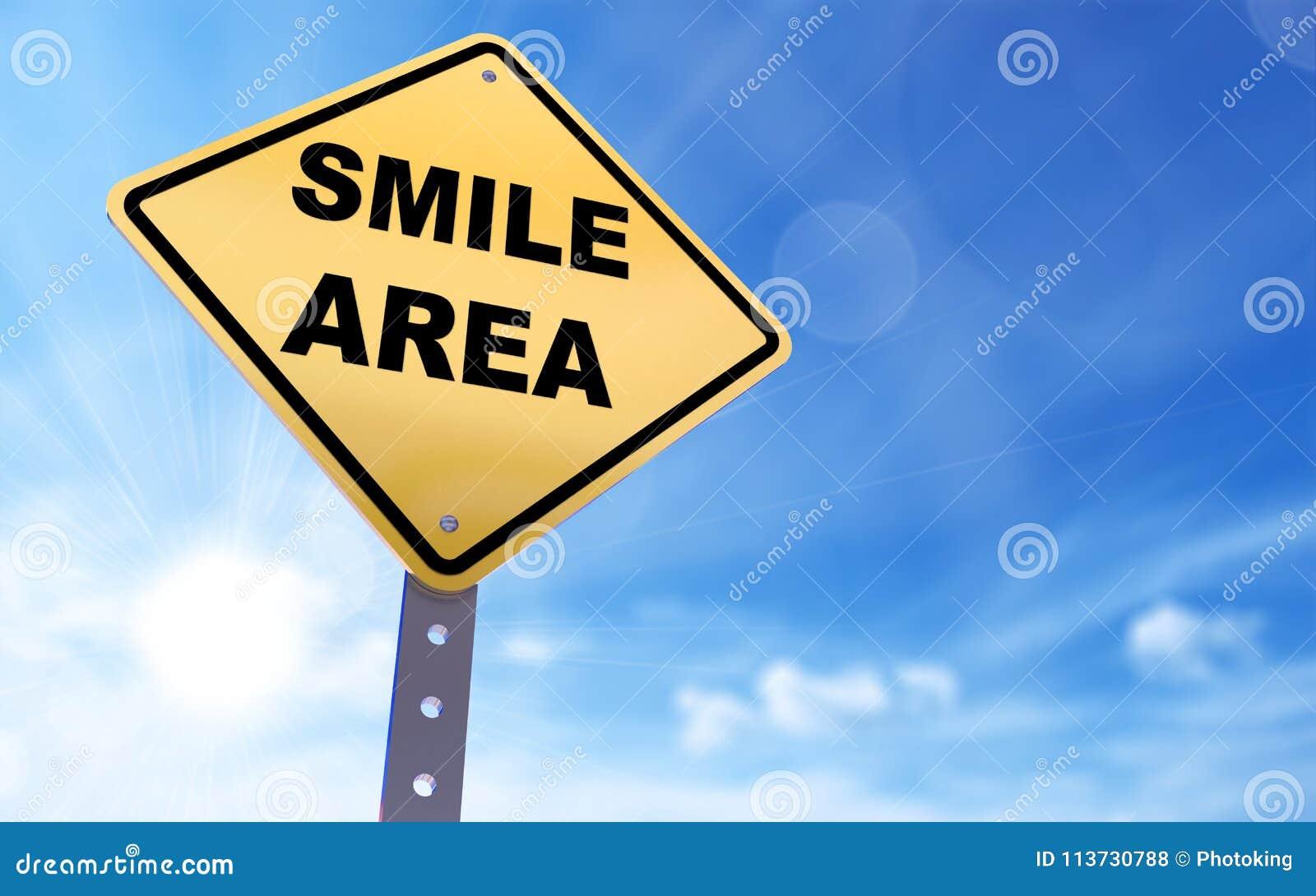 Lächelnbereichszeichen
