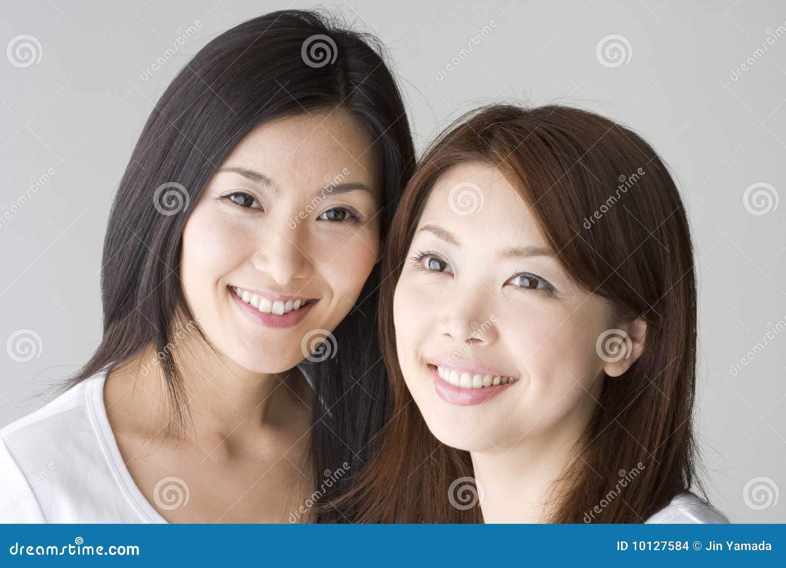 Freie japanische Frauen