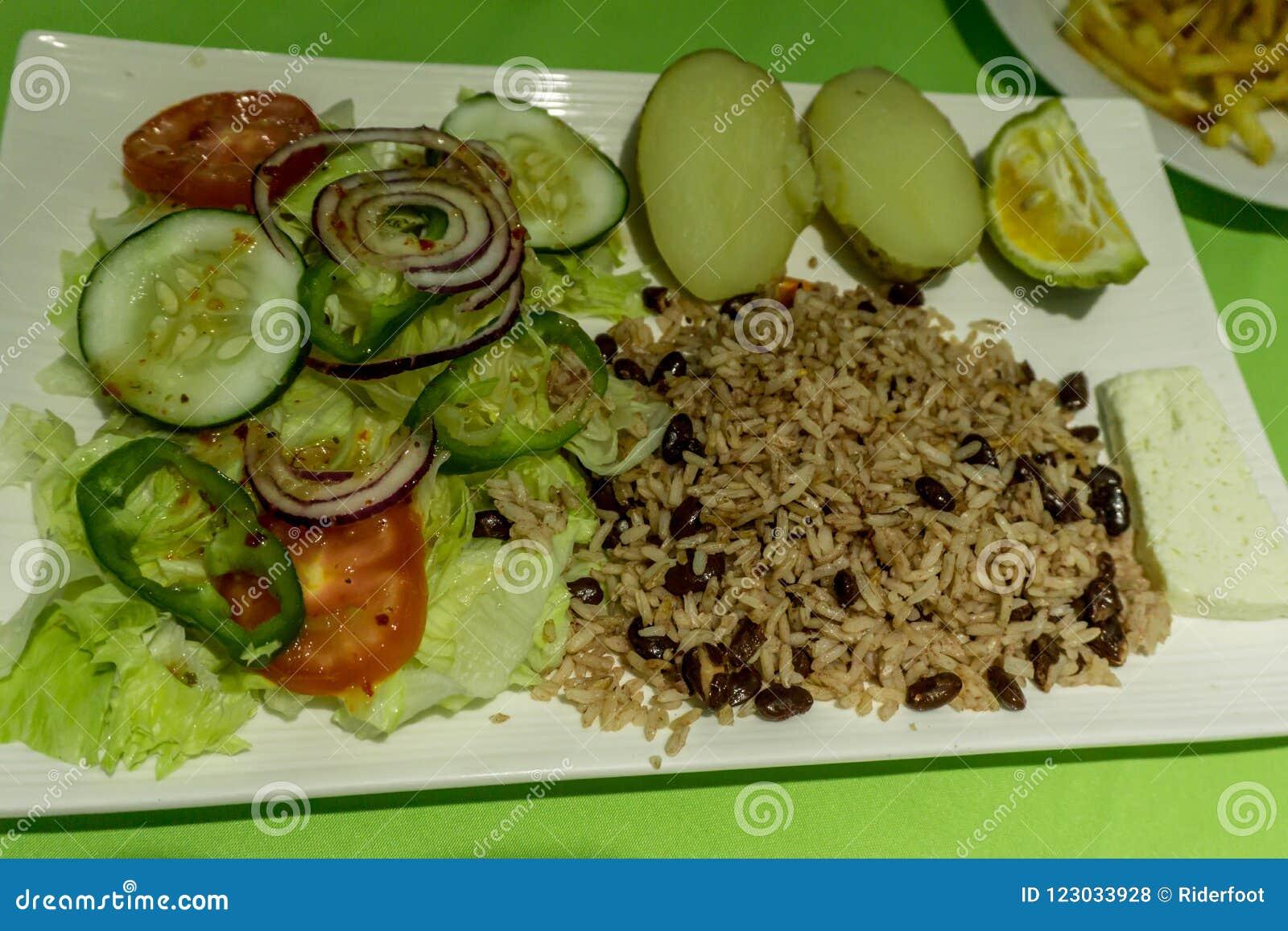 Läcker nicaraguansk mat