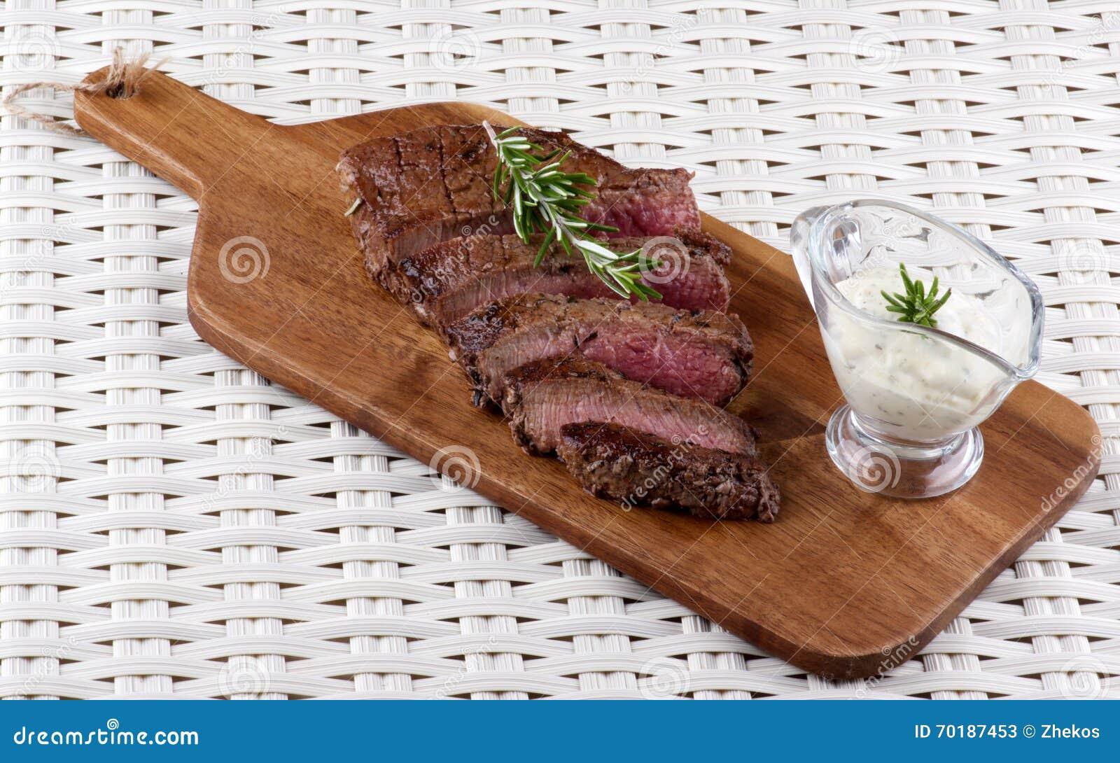 Läcker stek för nötkött