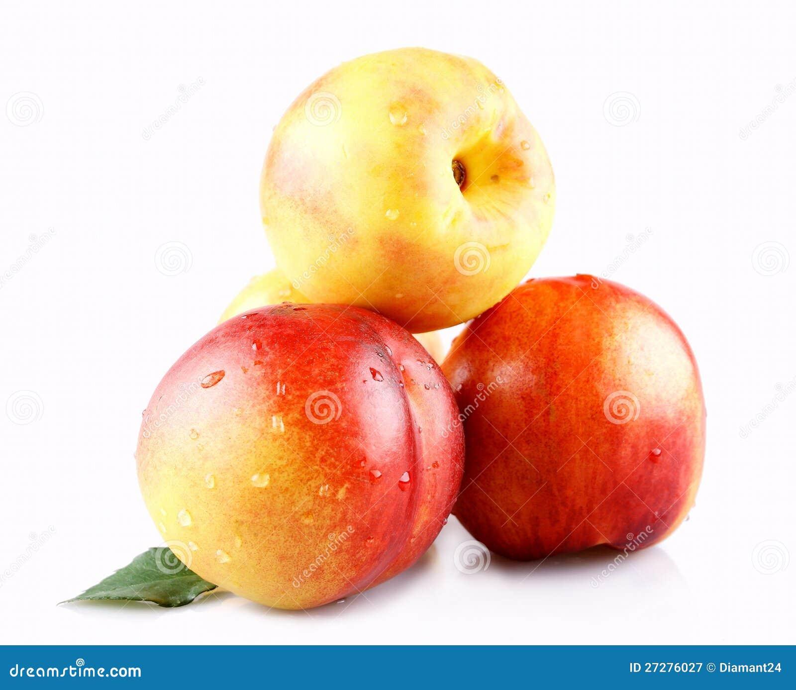 Läckra persikor