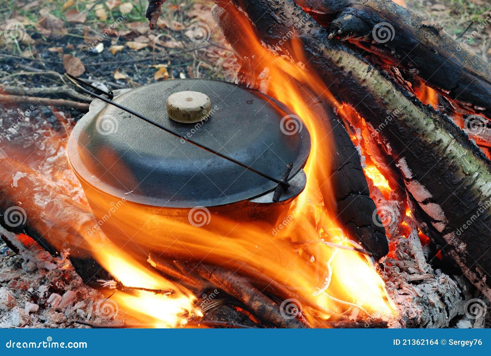 Lägerbrandkruka