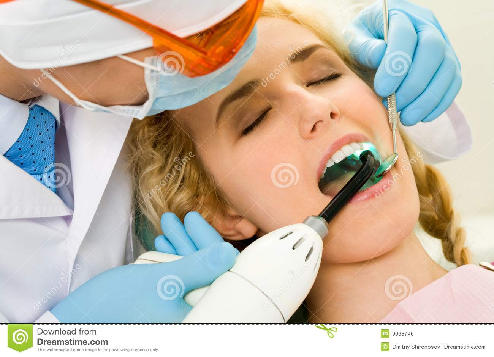 Läka tänder