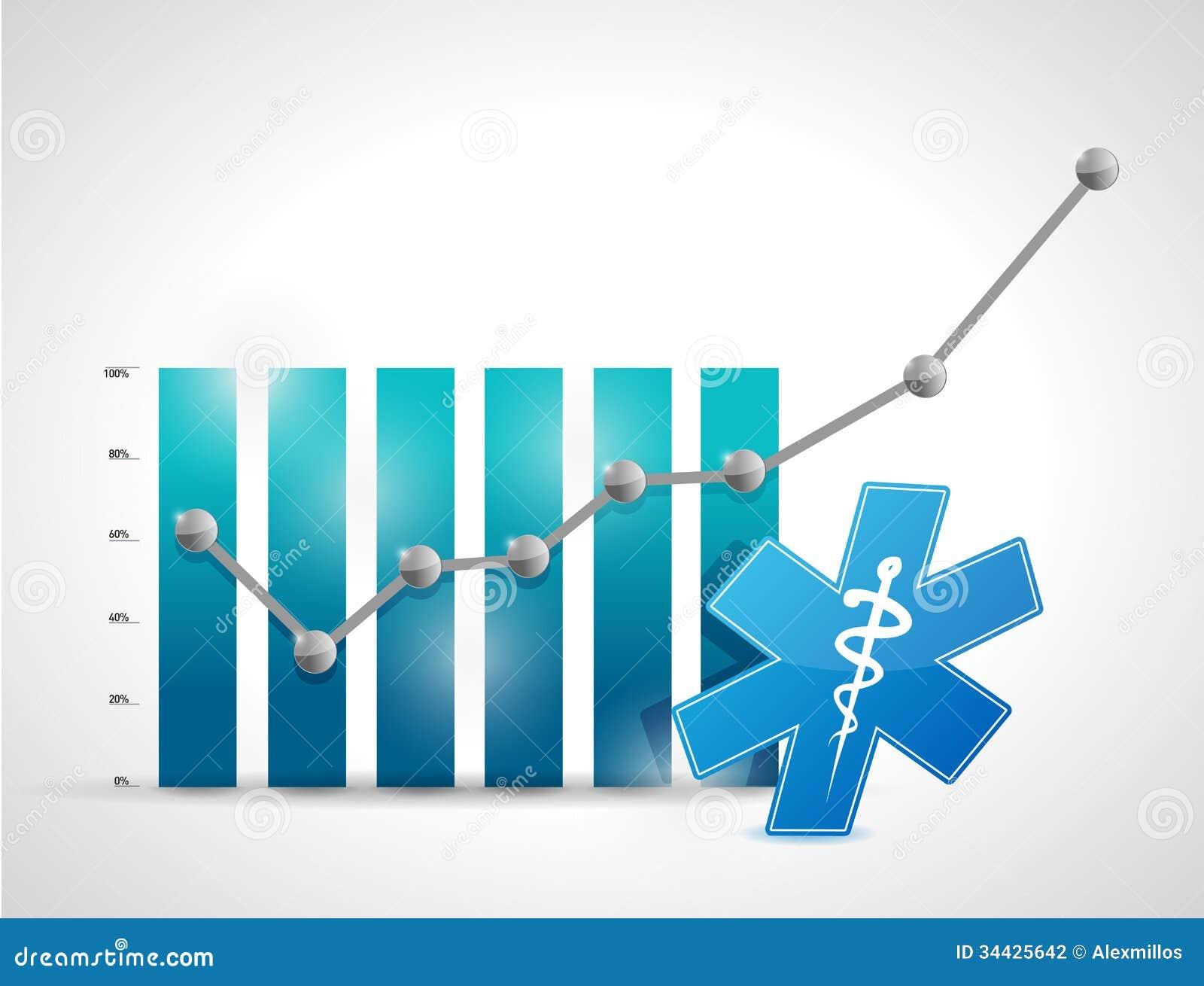 Läkarundersökning. illustration för medicinaffärsgraf