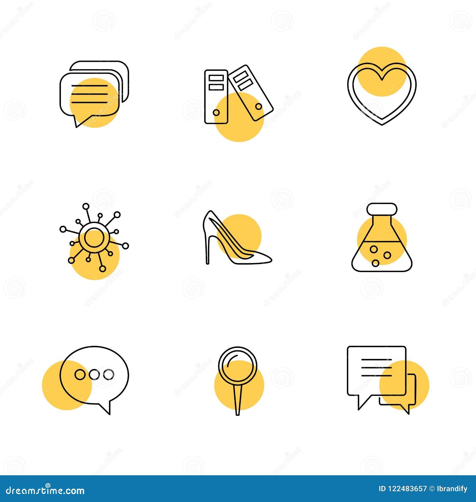 Läkarundersökningen hälsa, navigering, konversation, eps-symboler ställde in vec