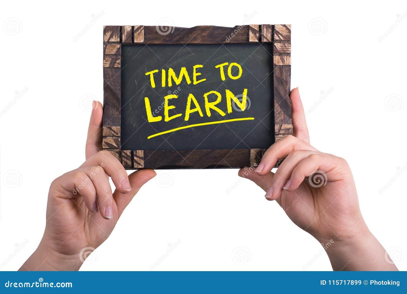 Lär tid till
