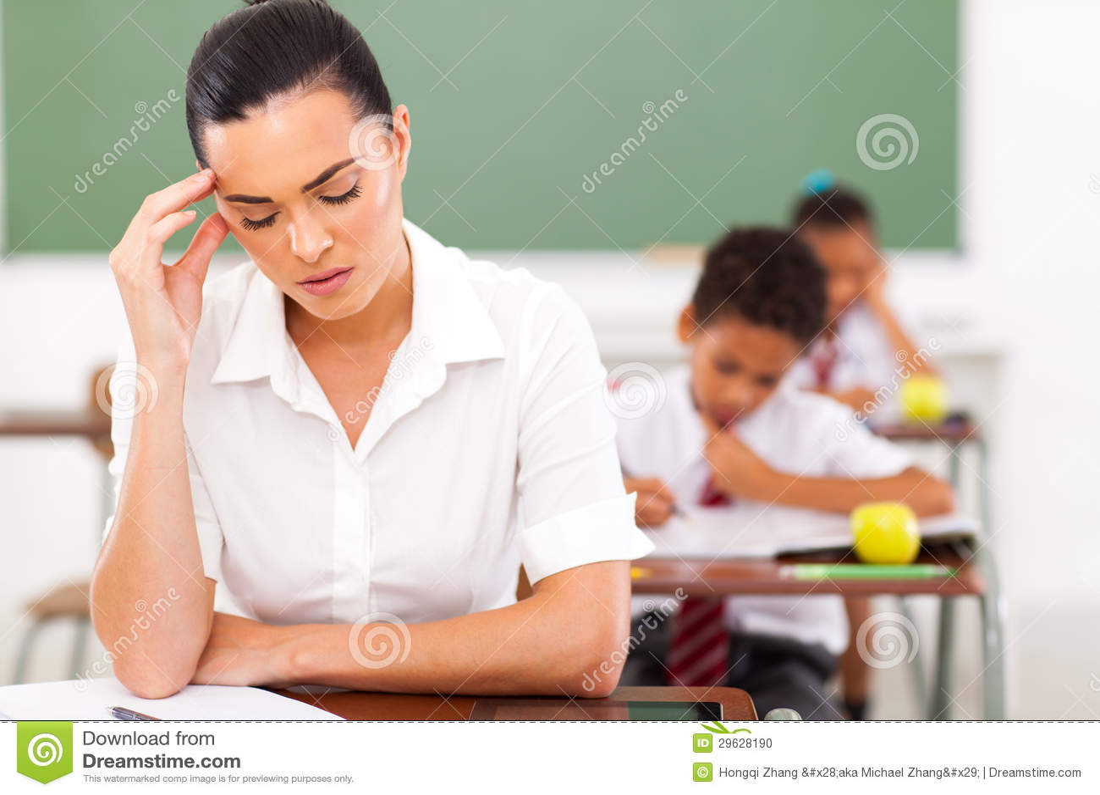 Lärarehuvudvärk