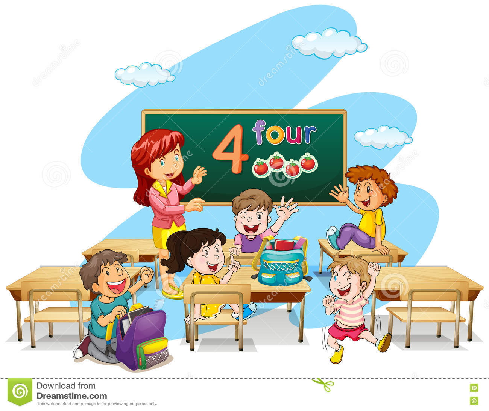 LärareTeaching Students In klassrum