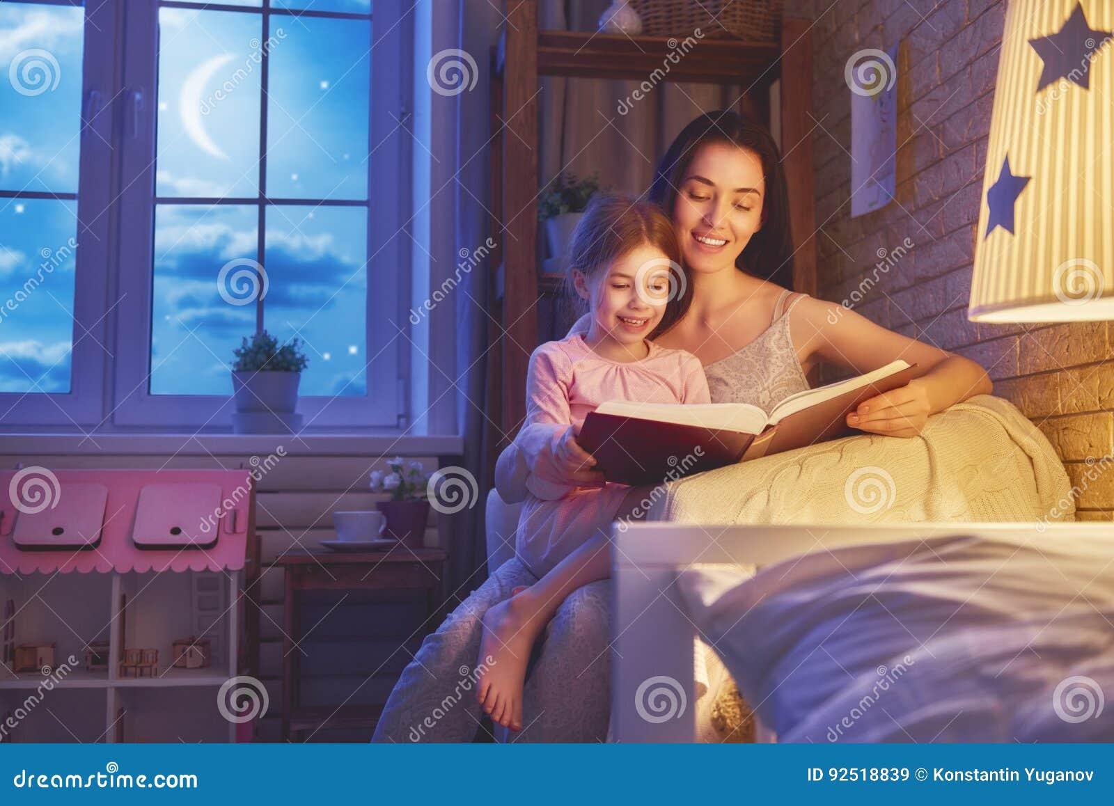 Läs- läggdags för familj