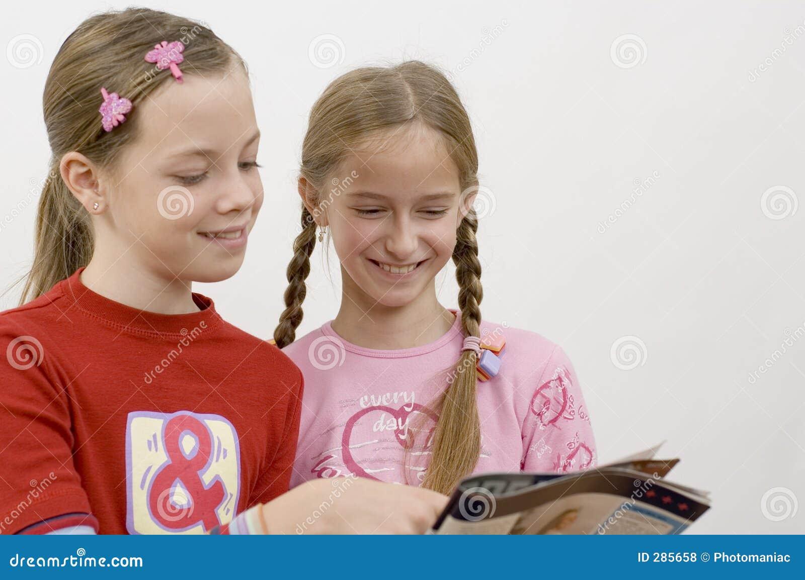 Läsa för flickor