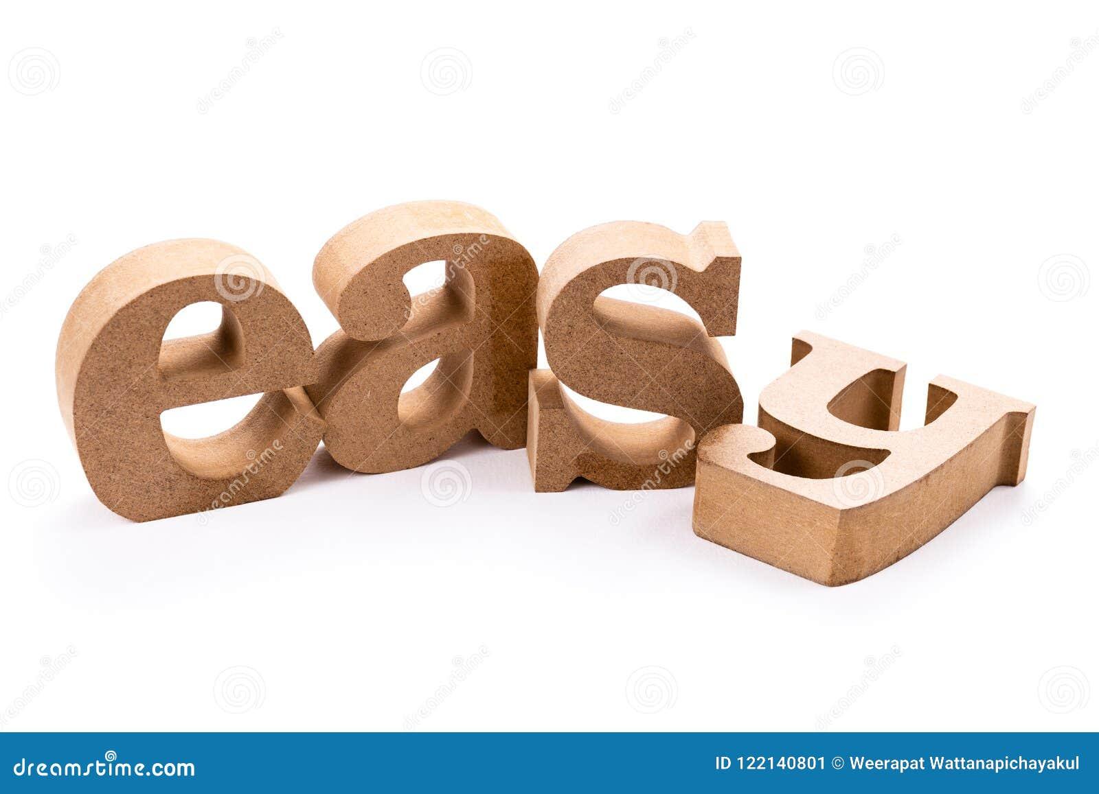 Lätt Wood ord