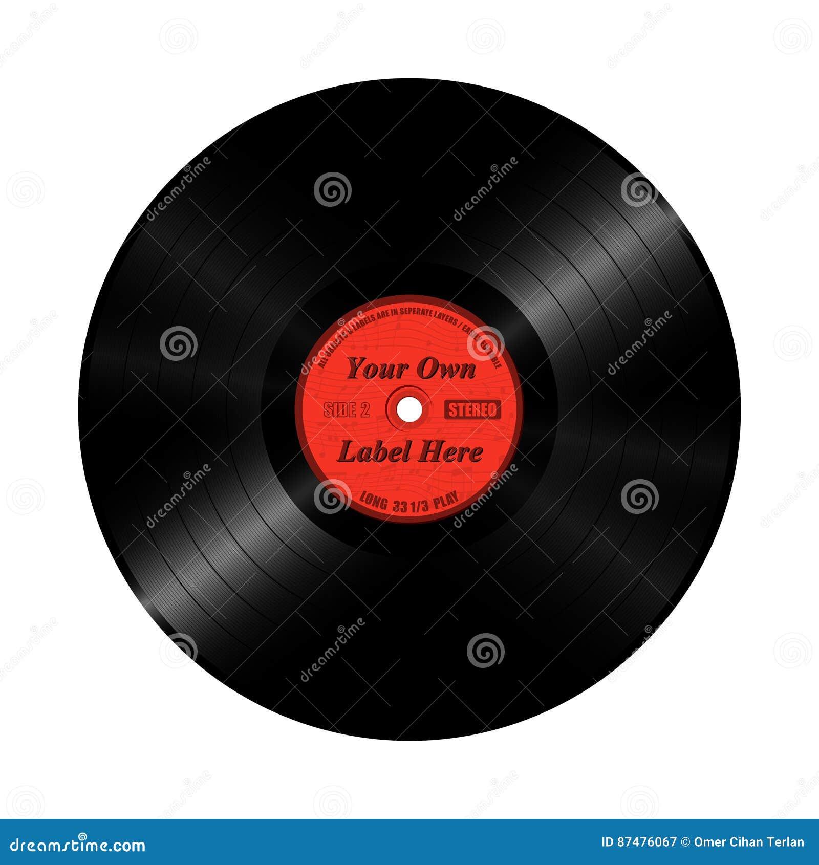 Lång lek för vinylrekord