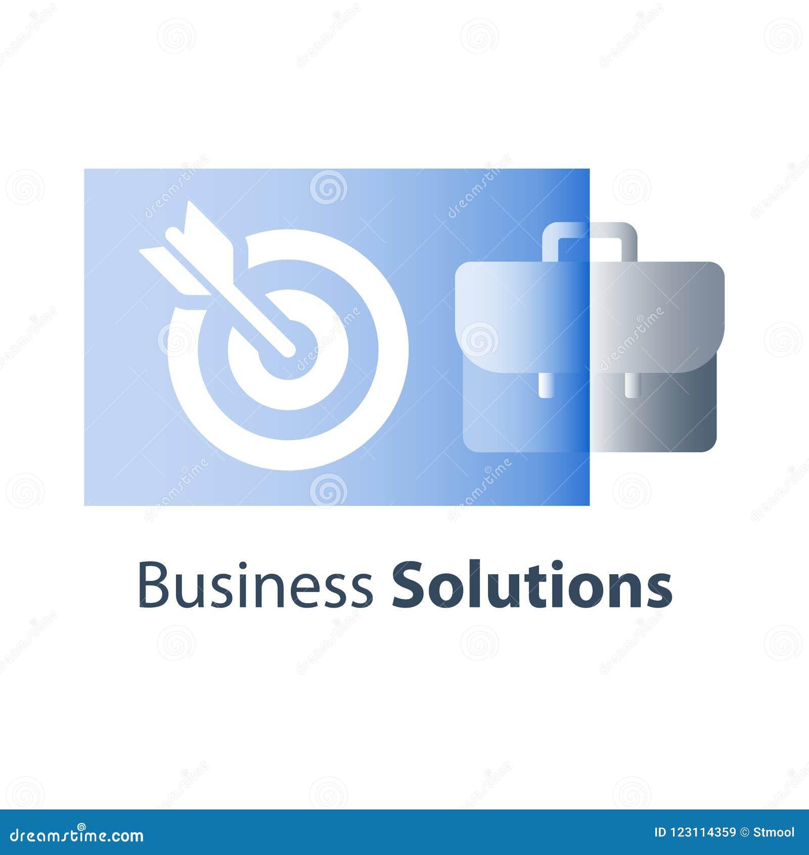 Långsiktigt mål för företag, affärsstrategi, administration och ledning, företags lösning
