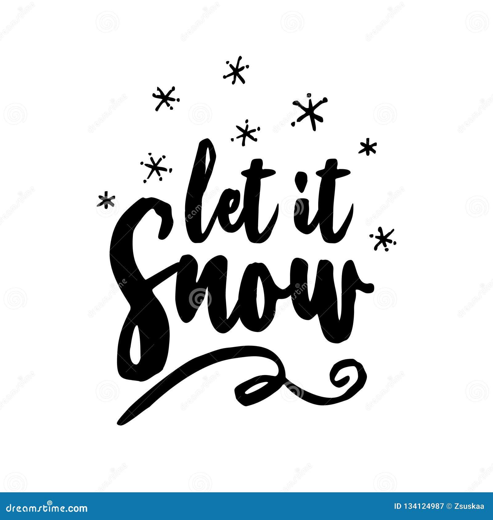 Låt det snö! - Hälsa kort