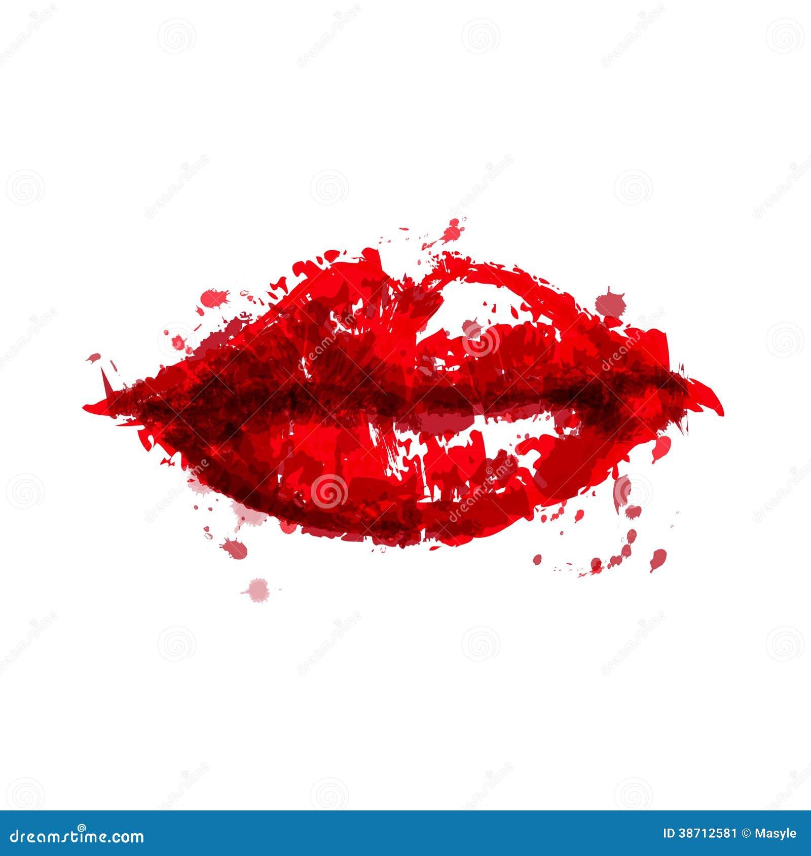 Lèvres peintes