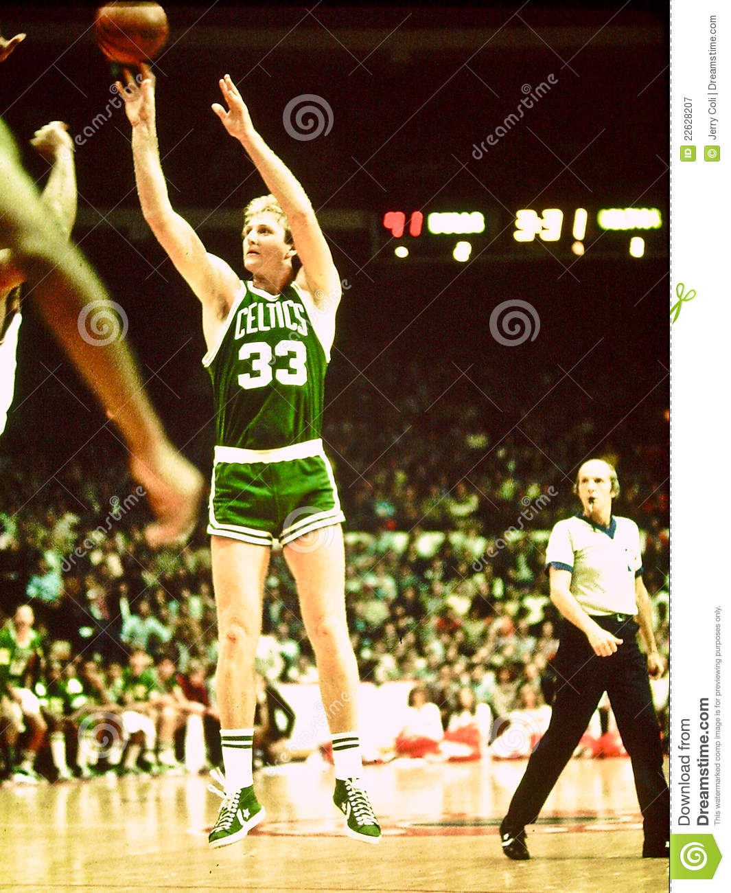 Légende de Celtics de Larry Bird Boston