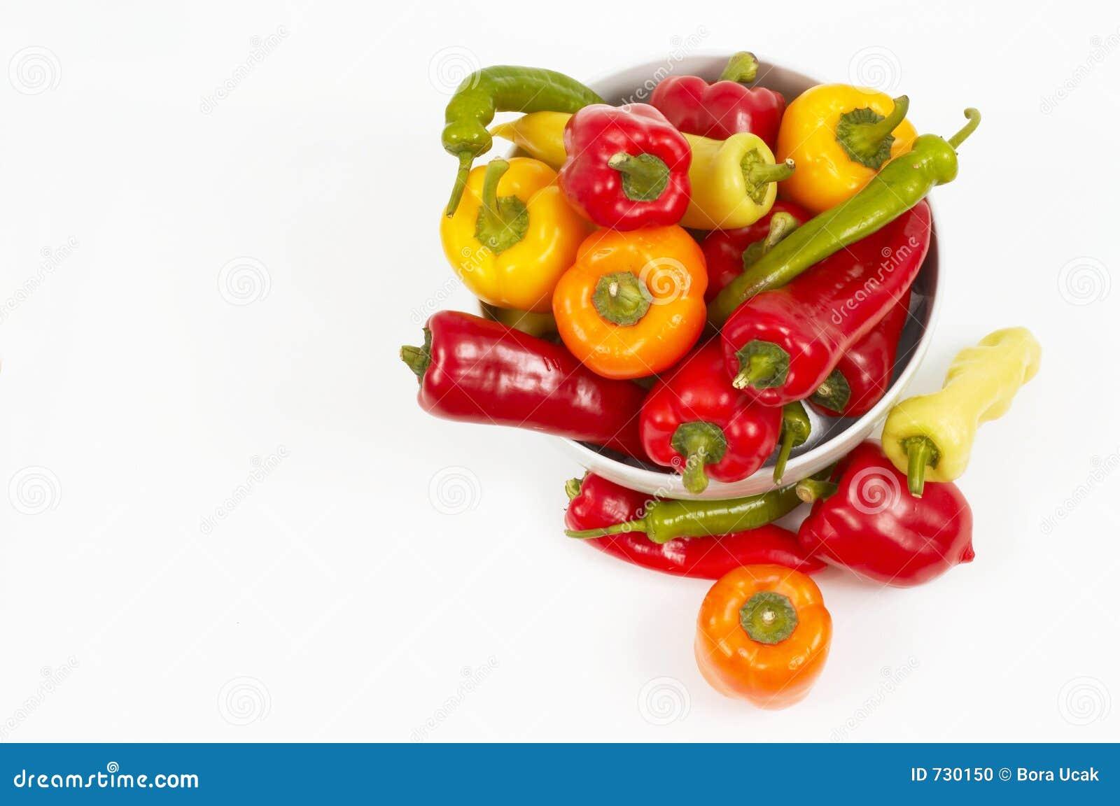 Légumes à partir de dessus