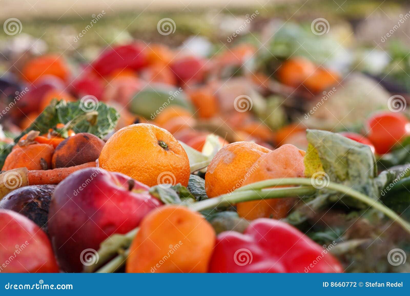 Légumes comme compost