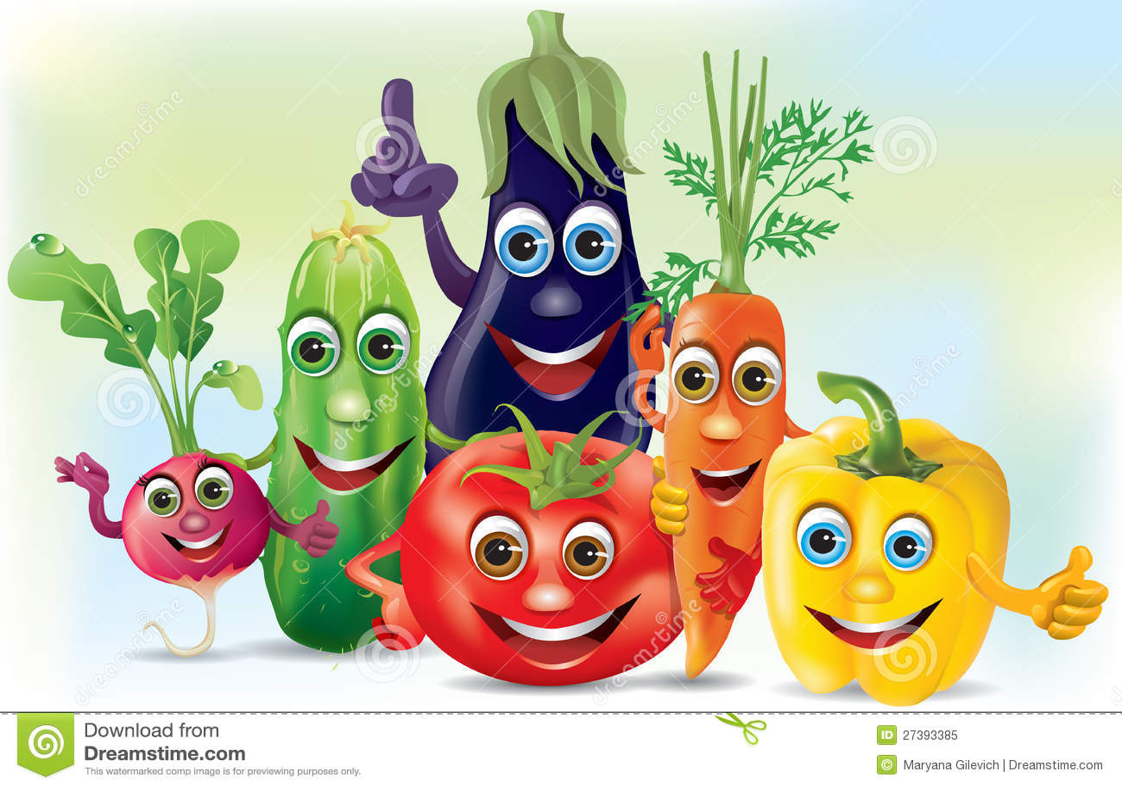 L gumes de compagnie de dessin anim illustration stock - Dessin de legumes ...