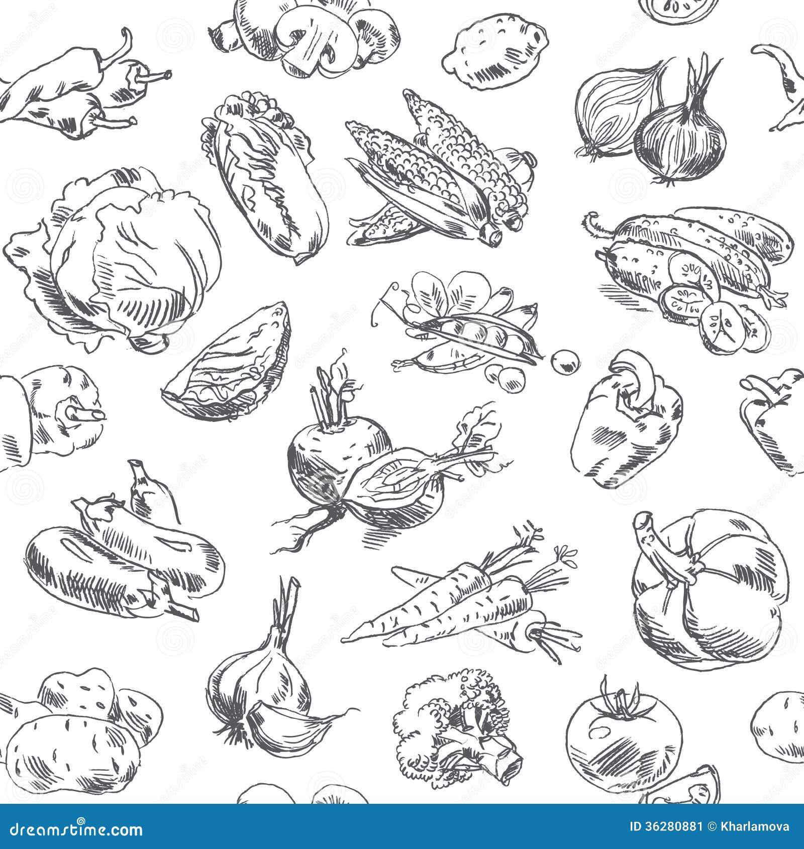 L gumes de dessin de dessin main lev e mod le sans - Dessin de couture ...
