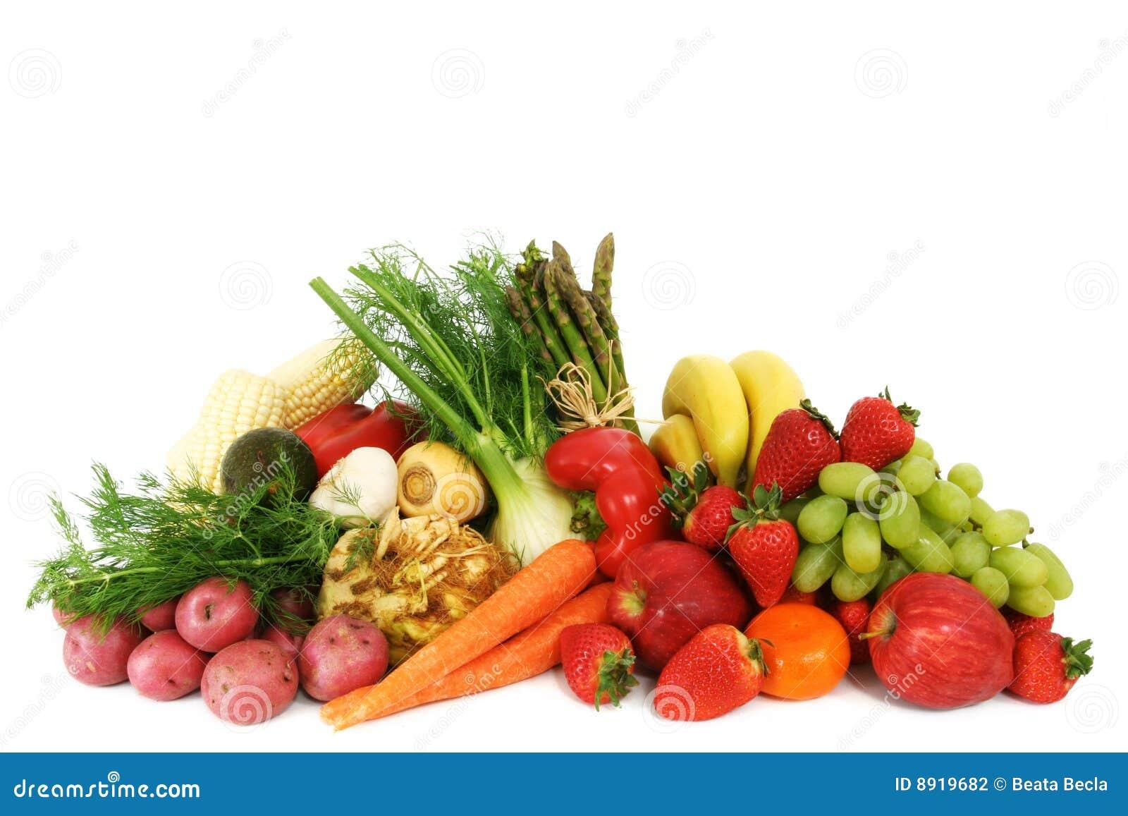 Légumes fruits frais