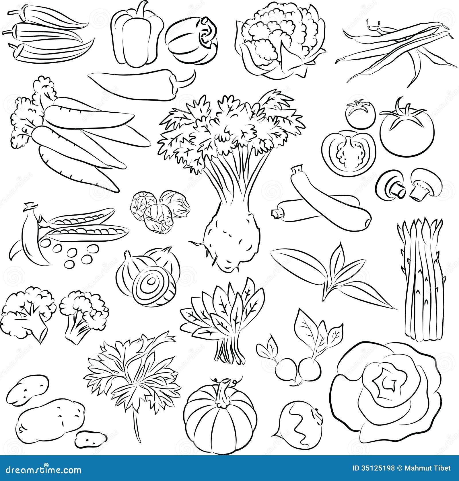 Légumes réglés