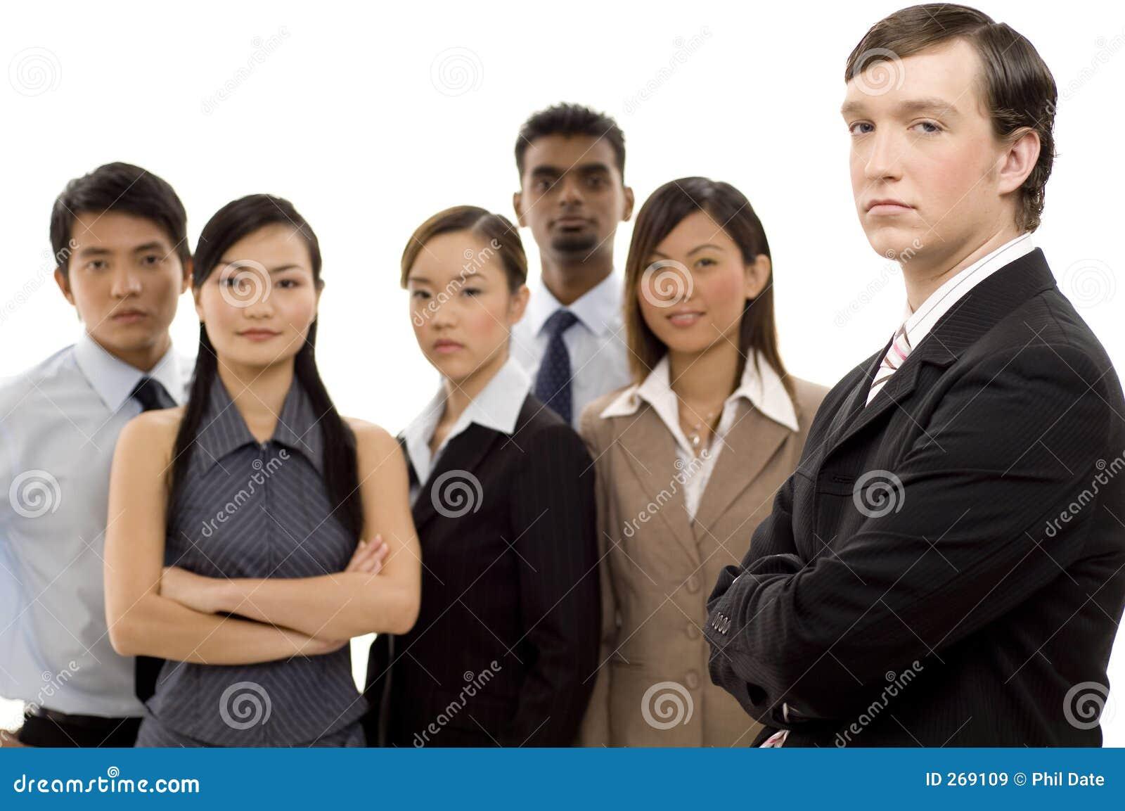 Líder de negócio 1 do grupo