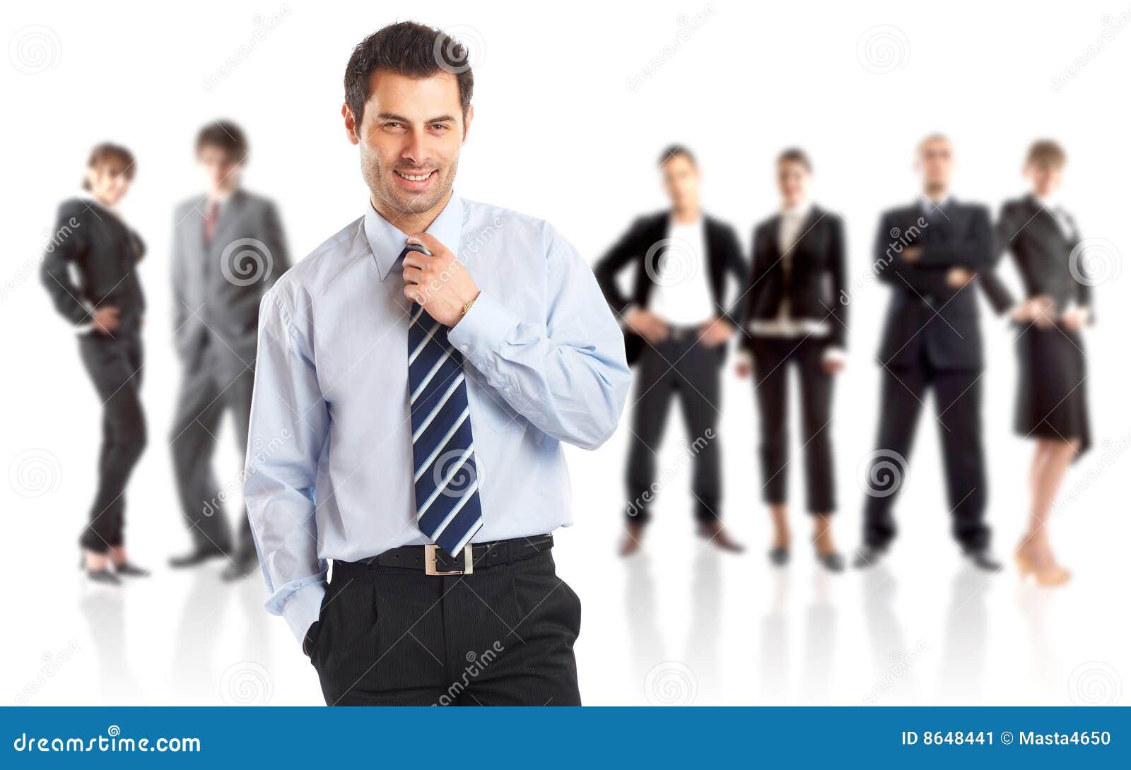 Líder e sua equipe