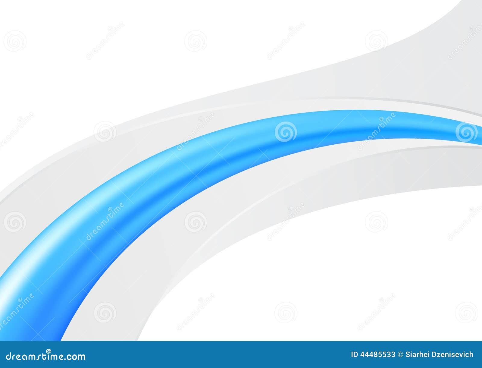 Línea Abstracta Azul - Plantilla De La Tarjeta De La Carpeta ...