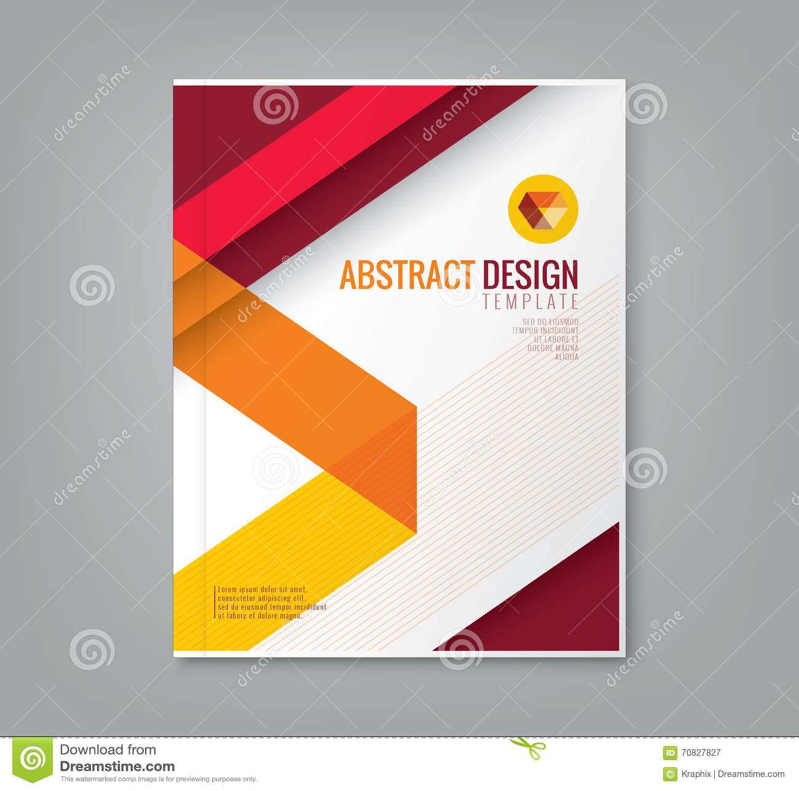 Línea Abstracta Plantilla Del Fondo Del Diseño Para El Informe ...