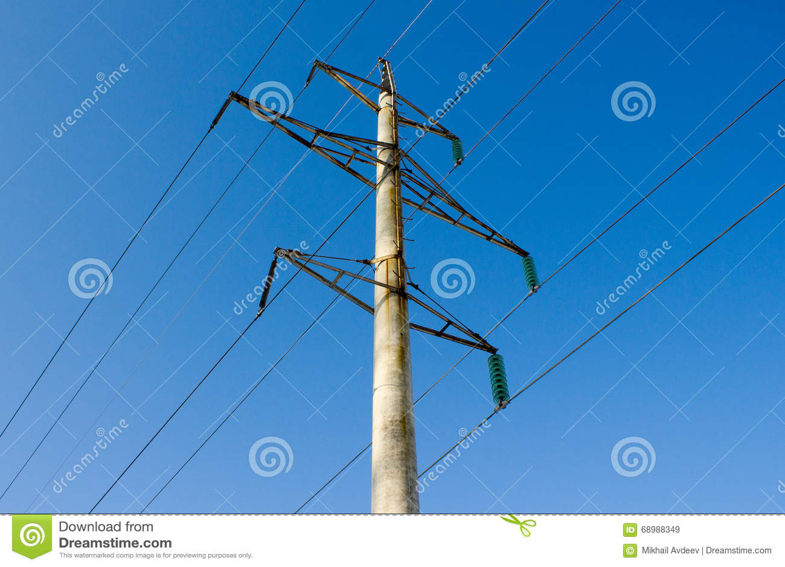 Línea de alto voltaje