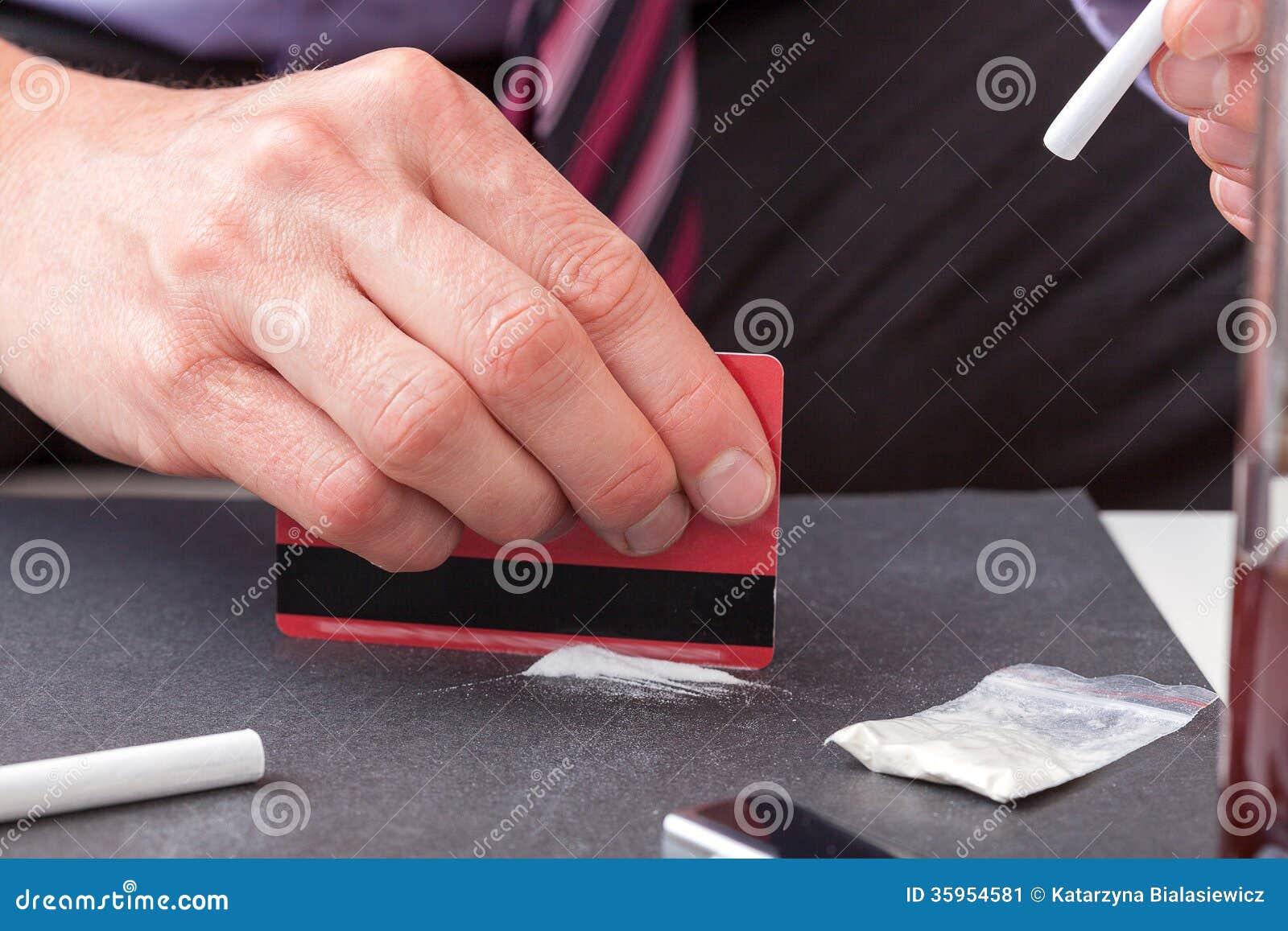 Línea de cocaína