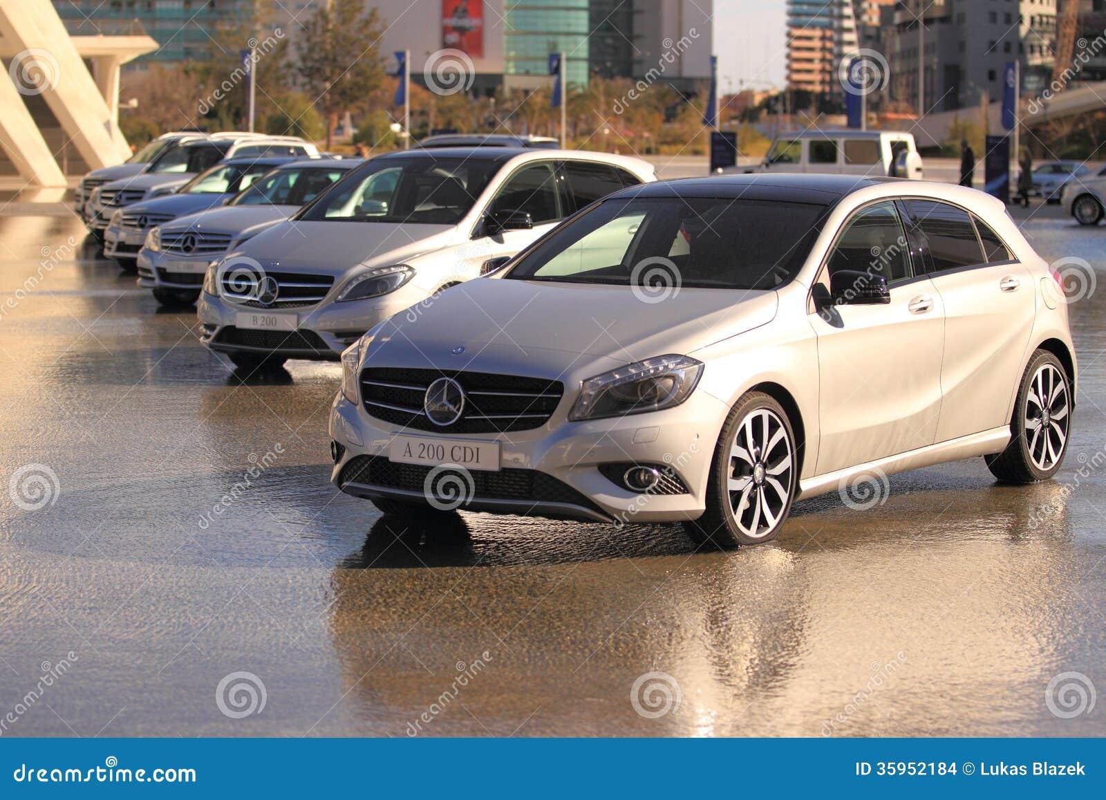 Línea de coches de Mercedes A200