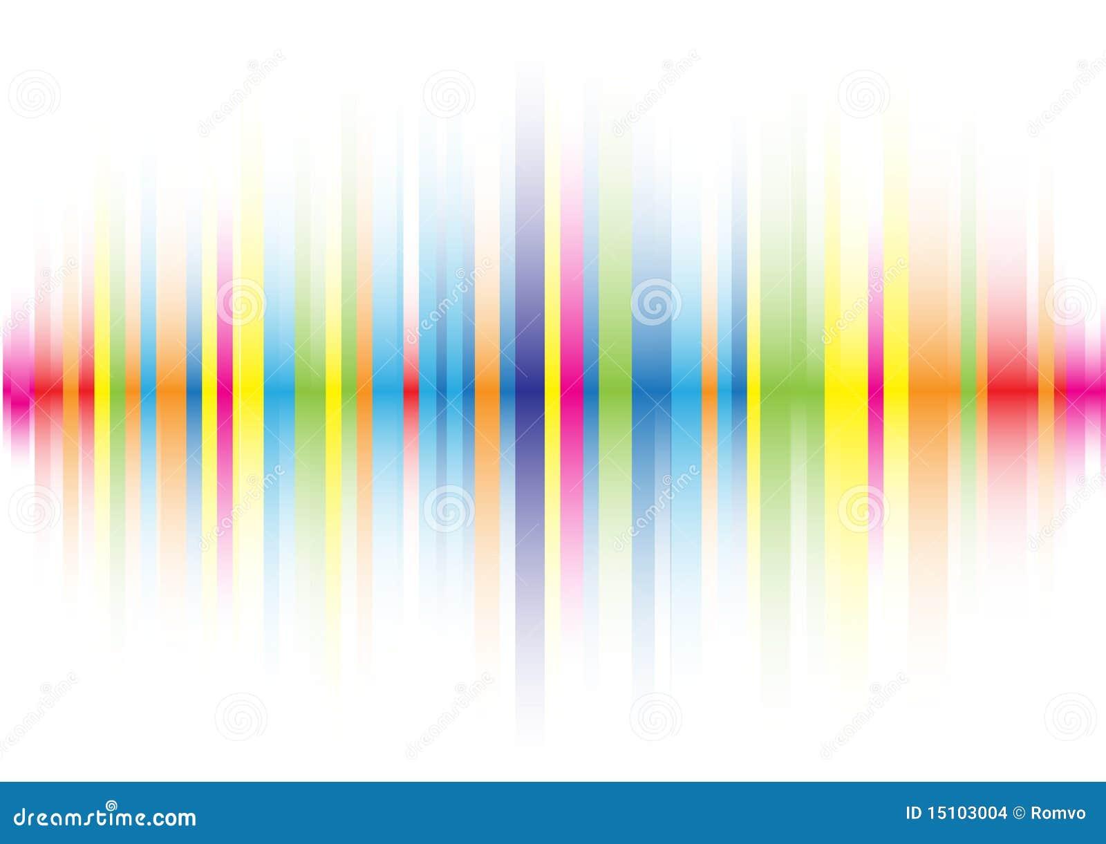 Línea de color abstracta fondo