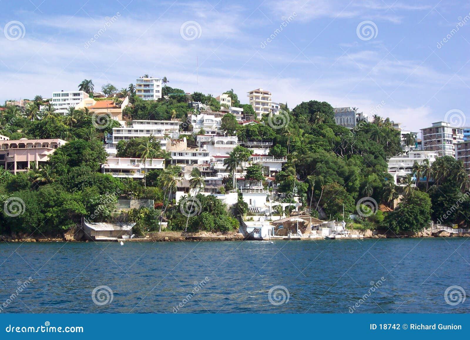 Línea de costa de Acapulco